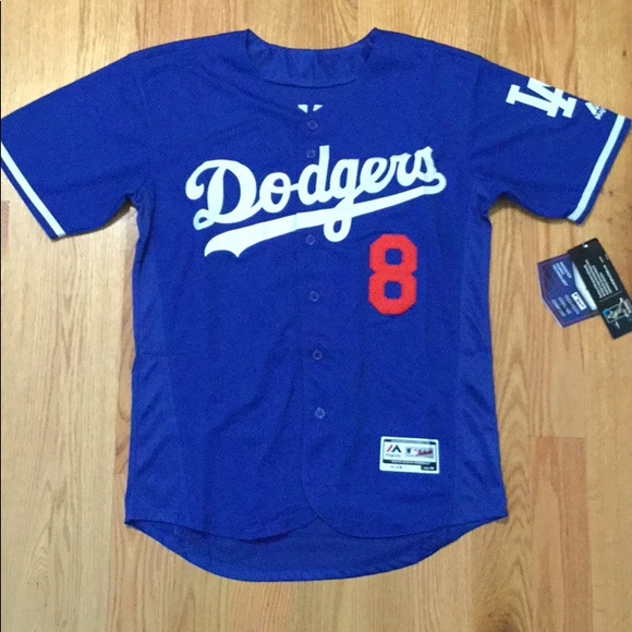 Los Angeles Dodgers  8 Machado Jersey 4309679978c